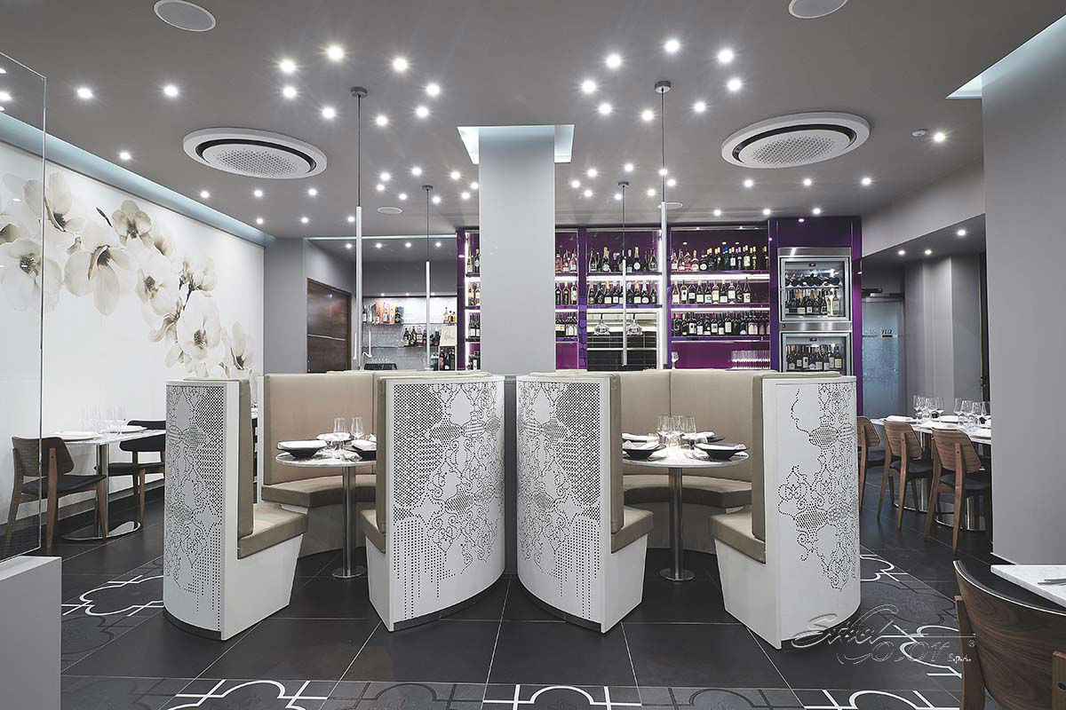 Fil rouge restaurant steelcolor s p a for Ricciola arredamenti